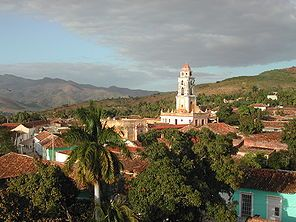 Trinidad is a town in the province of Sancti Spíritus, Cuba. Together with the nearby Valle de los Ingenios, it has been one of UNESCOs World Heritage sites since 1988. (Wikipedia)