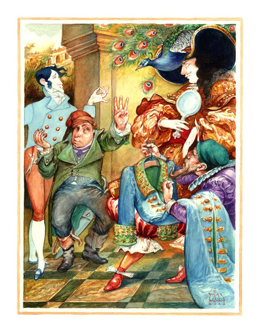 Hans Christian Andersen The Emperor S New Clothes Illustrator