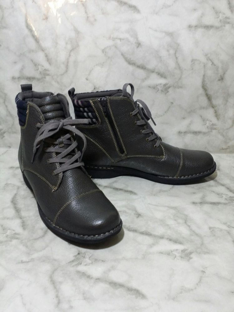 Clarks Collection Womens Boots Size 12