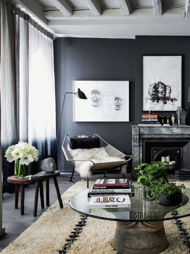 Dishy Design Interiors Inspired By Beautifully Plated Food Living Room Grey House Interior Living Decor