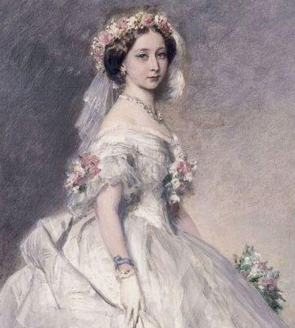 White Wedding Dress Queen Victoria: Famous Princesses In History