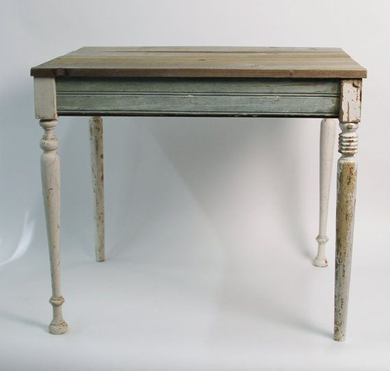 Items Similar To Reclaimed Wood Cottage Table   Salvaged New Orleans Wood    Custom On Etsy