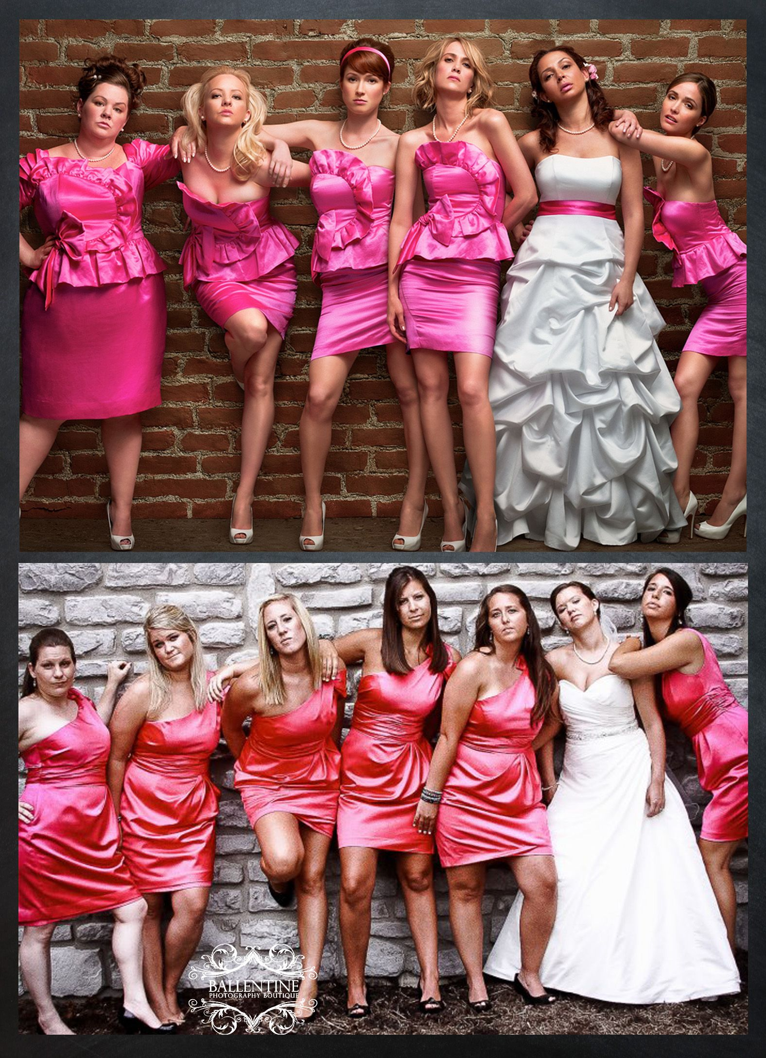 Bridesmaid Pose Loved Our Interpretation Our Bridesmaids