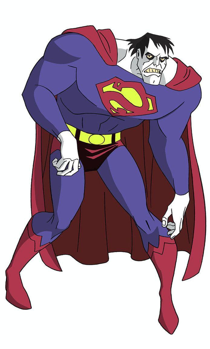Justice League Dcau Roll Call Bizarro By Timlevins Comic Villains Dc Comics Art Comic Book Art Style