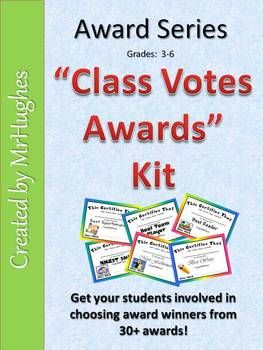Just finished creating this for my class. I have given these wards for years. Now they look fresh and exciting! Fun to do. Kids LOVE to vote for their classmates!  Happy End of the School Year! :)
