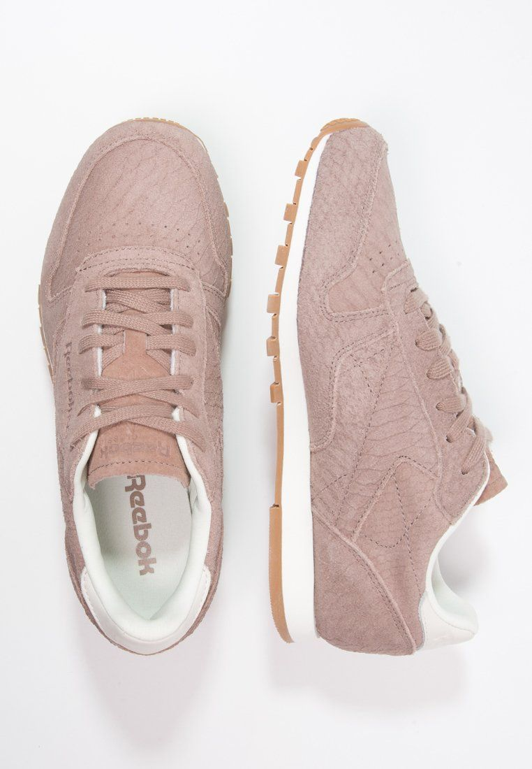 CLASSIC CLEAN EXOTIC - Baskets basses - taupe/chalk - ZALANDO.BE