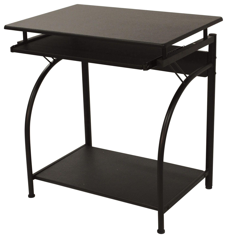 Comfort Products Inc Stanton Computer Desk Black 50 1001 Best Buy In 2020 Computer Desks For Home Modern Computer Desk Small Computer Desk