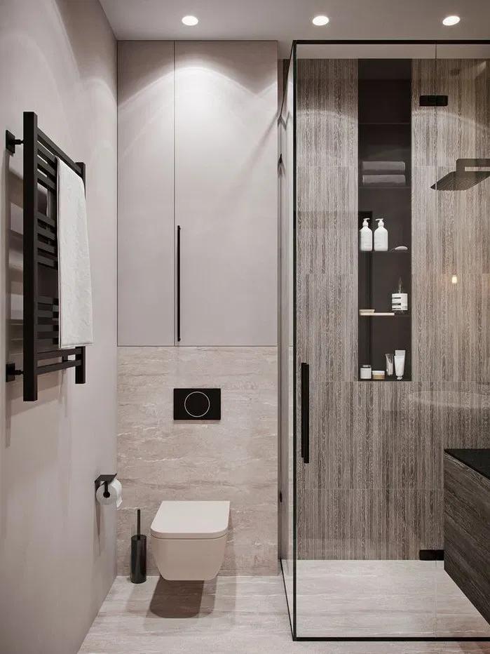 Bathroom Decor Themes 130 Splendid Small Bathroom In 2020 Modernes Badezimmerdesign Badezimmer Innenausstattung Badgestaltung