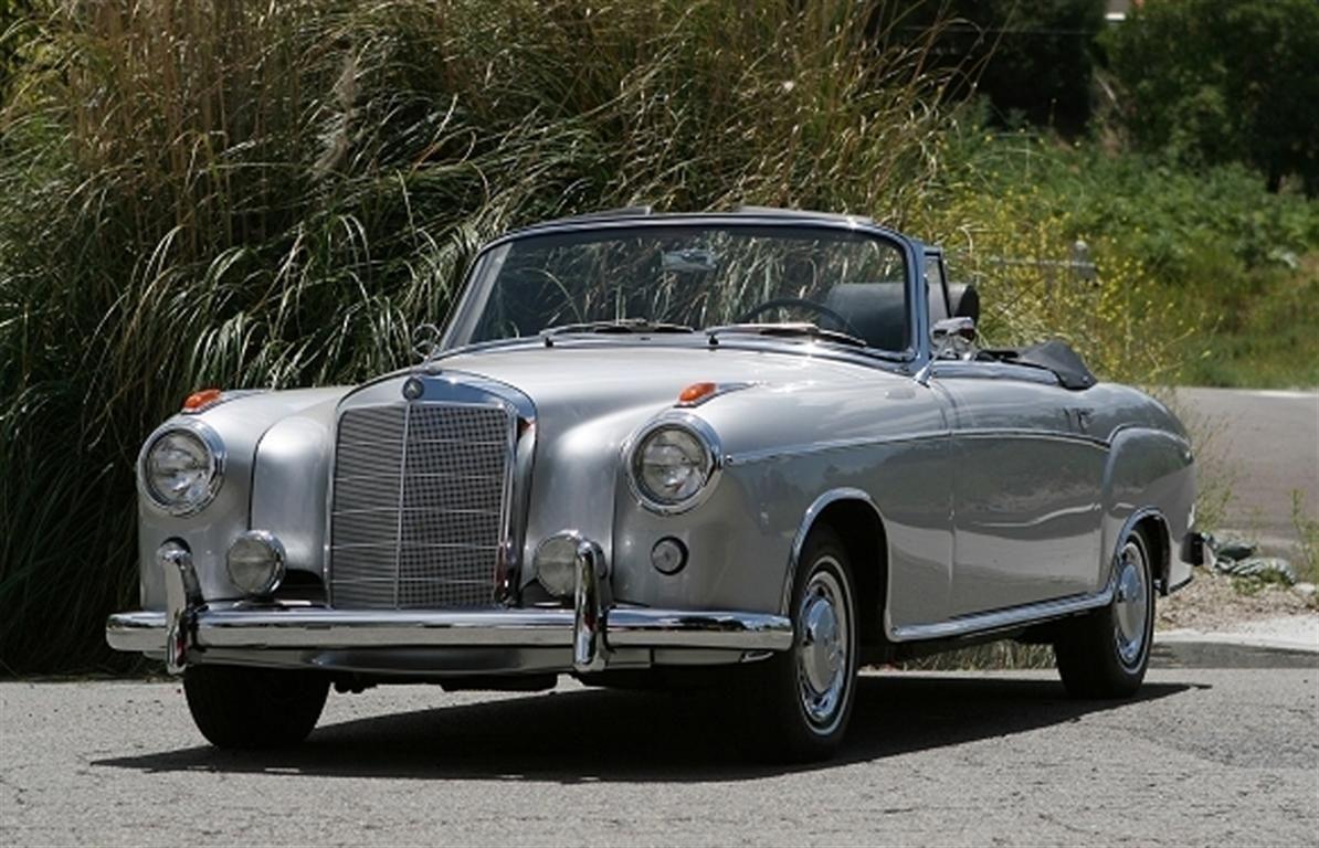 Vintage Mercedes Convertibles