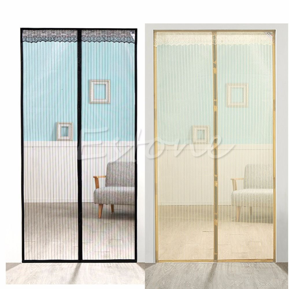 Magic Curtain Door Mesh Magnetic Hands Free Fly Mosquito Bug