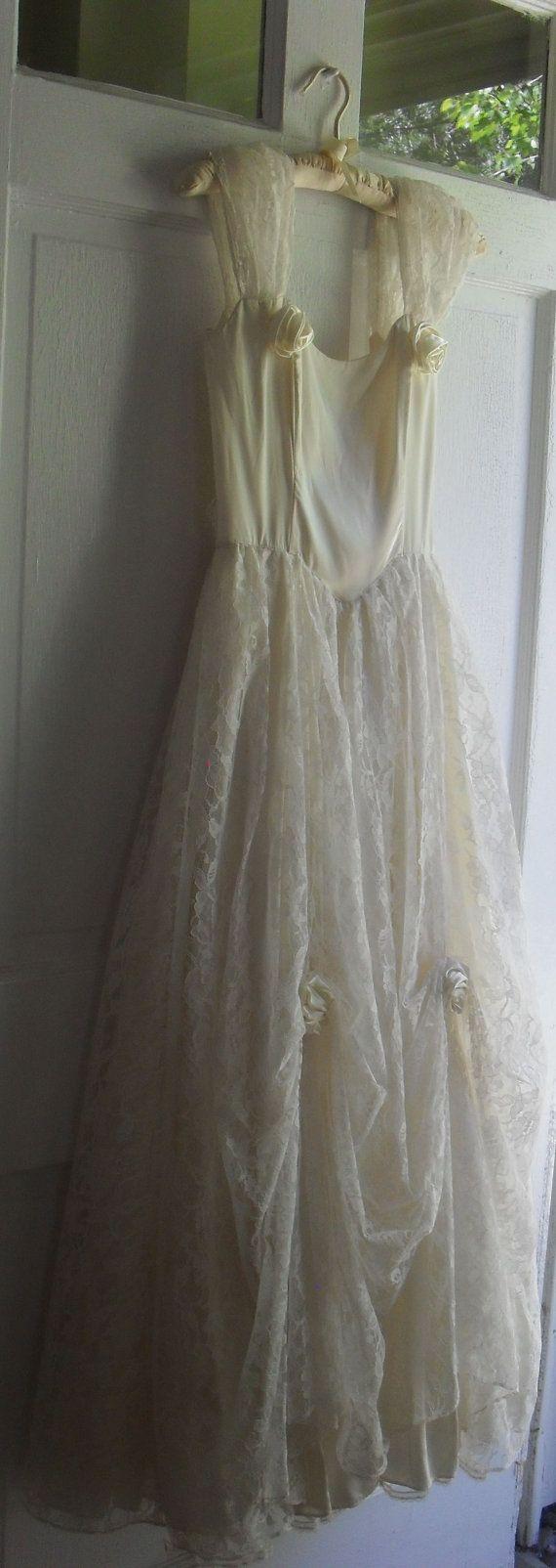 Gunne sax wedding dress  Vintage s Gunne Sax by Jessica McClintock by vintagetree