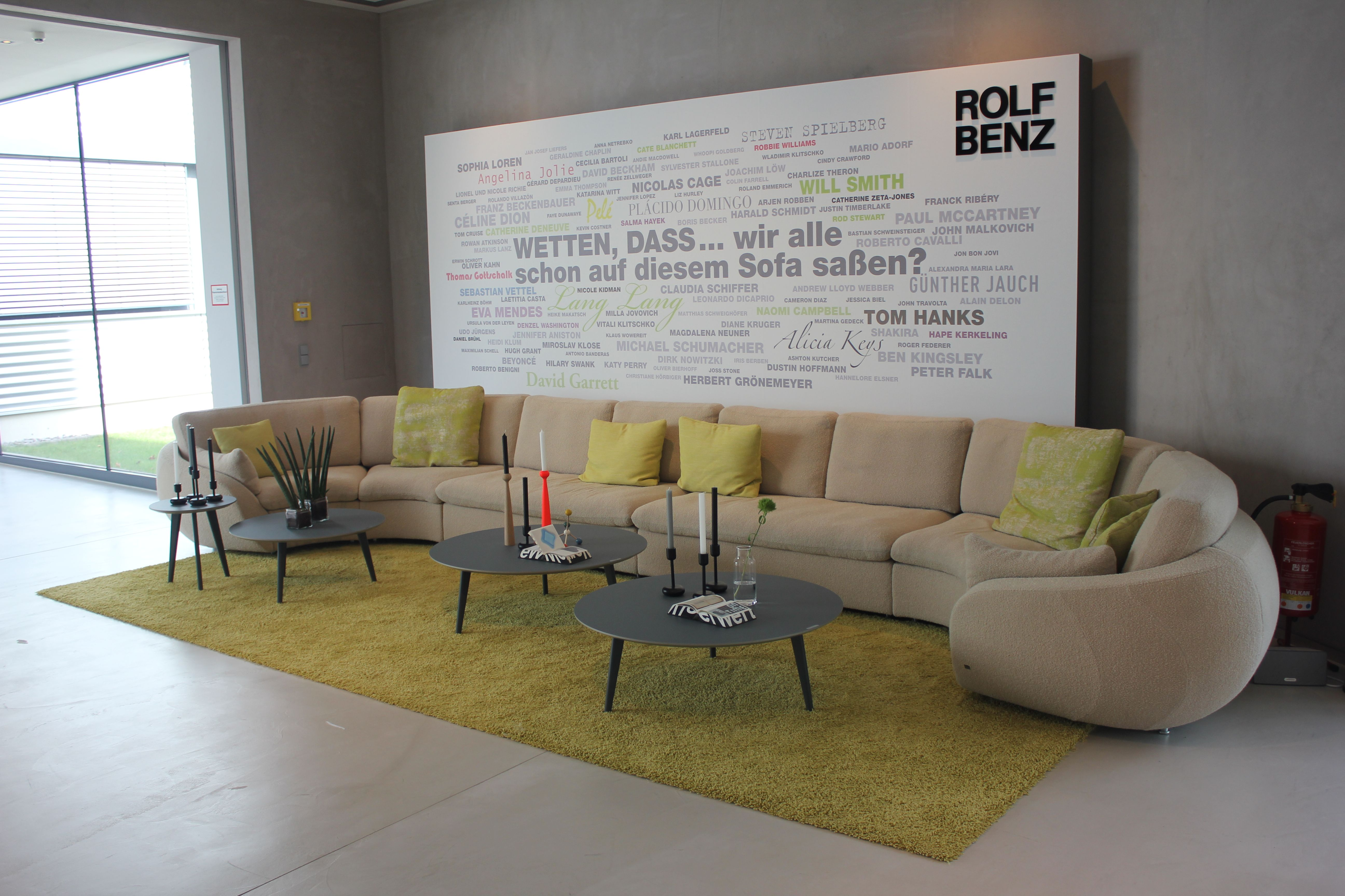 Affordable Sofa Bei Hausmesse Rolf Benz With Sofa Benz