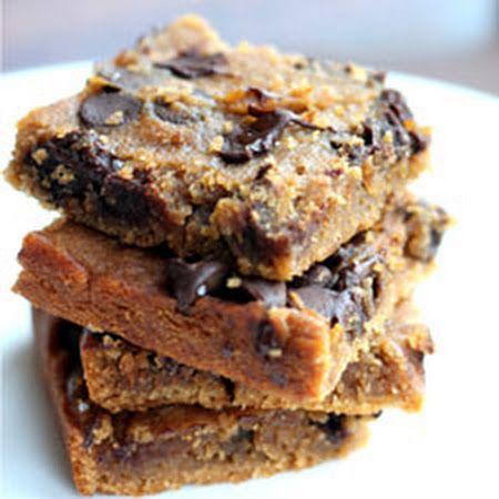 Brownies - Flourless Chocolate Chip Blondies