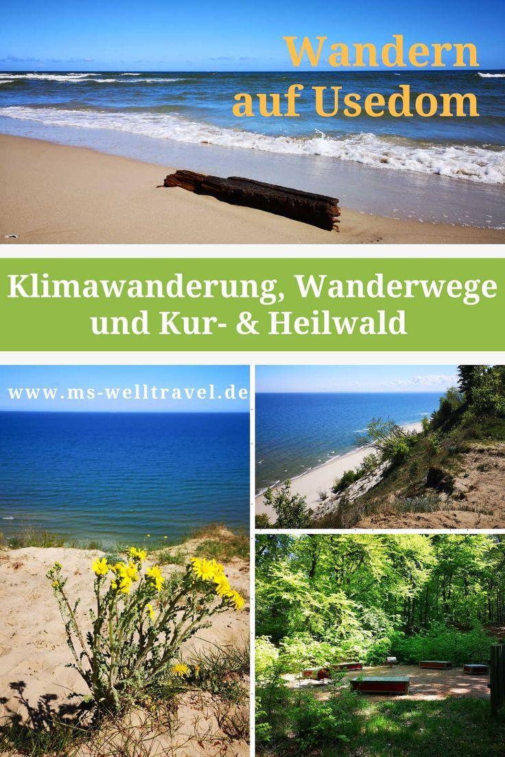 Wandern auf Usedom Klimawanderung, 400 km Wanderwege, Kur