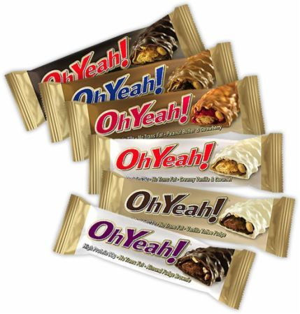 ISS Research Oh Yeah! Bars at Bodybuilding.com: Lowest Prices for Oh Yeah! Bars