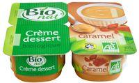 Crème dessert Caramel bio Bio nat'