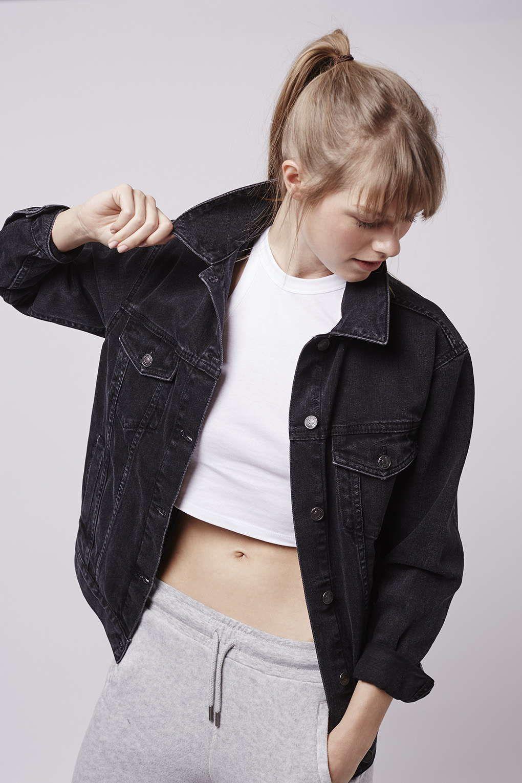MOTO Oversized Denim Jacket | Oversized denim jacket ...