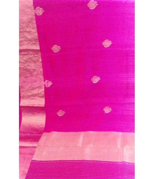 Pink Pure Banarasi Handloom Dupion Silk Saree--------------------Struggling to decide what to pack as part of your wedding trousseau? You know you can never be wrong when choosing a couple of Banarasi sarees. These timeless creations are perfect for this special phase of your life and you know they will never go out of style even several years down the line.--------Sarees from luxurionworld.com