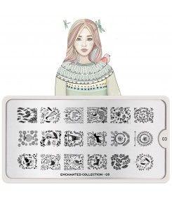 Enchanted Nail Art Design 03