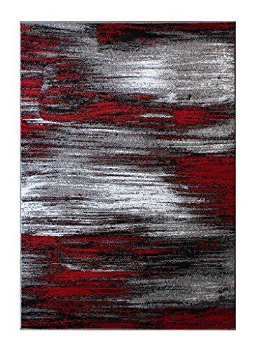 Masada Rugs Modern Contemporary Area Rug Red Grey Black Https Www Amazon Com Dp B0198npz4a Ref Cm Sw R Pi D Contemporary Area Rugs Area Rugs Modern Rugs