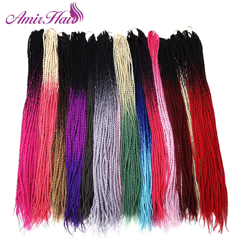 Amir 24inch 30roots Senegalese Twist Hair Crochet Braid Extensions Ombre Jumbo Synthetic Hair For Braiding    !!!Attention!!! valid discount 19.94% buy now for: 5.46$ #crochetsenegalesetwist