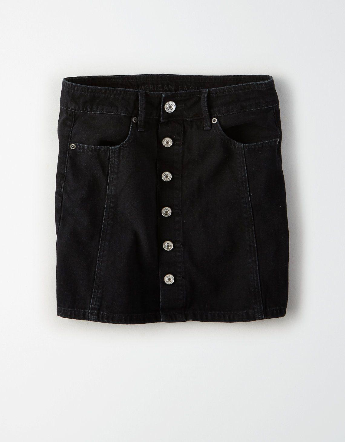 f05b662e73 Product Image Black Denim Shorts, Denim Skirt, Casual Shorts, Front Design,  Cotton