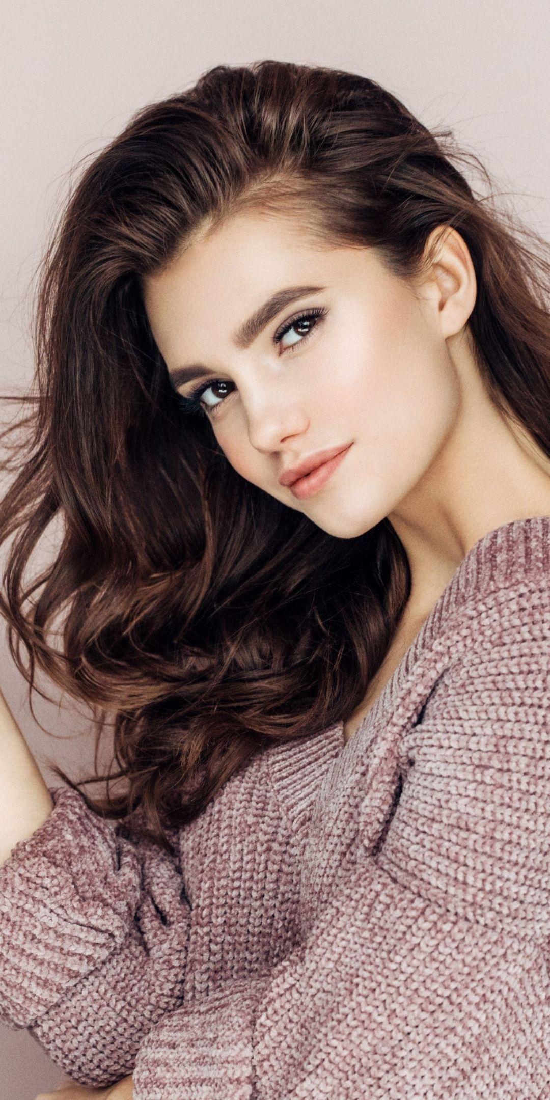 Pretty Curly Hair Beautiful Girl 2018 1080x2160