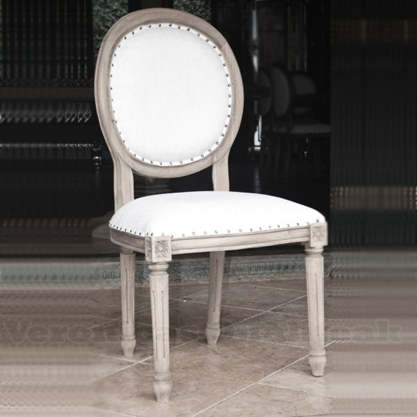 Antique French Country Distress Oval Dining Chair - Antique French Country Distress Oval Dining Chair Furniture