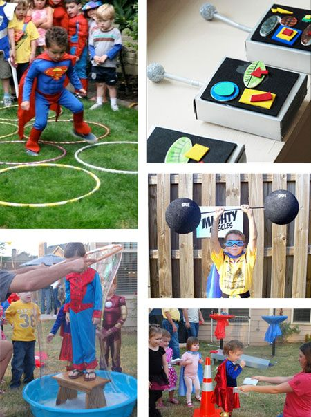 Activities For Super Hero Party