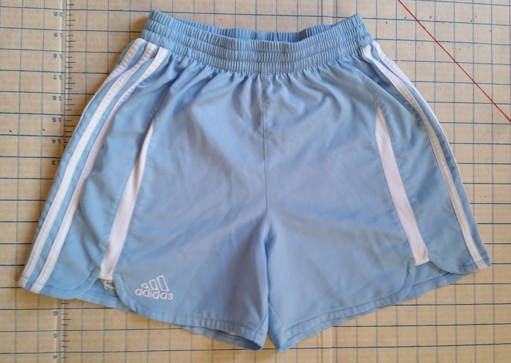 45d9f1aea Adidas Boys Climacool Shorts Athletic Soccer Youth S small Light Blue White  #adidas #Everyday