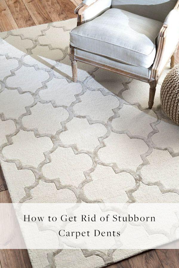 Hereu0027s How To Fix Carpet Dents When You Move Furniture