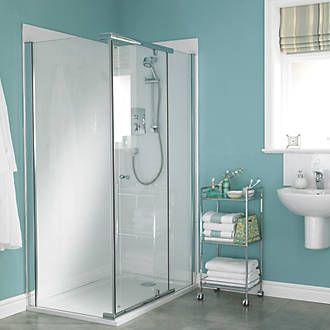 Mira Flight Shower Wall Panel White 1175 x 2010 x 6mm ...
