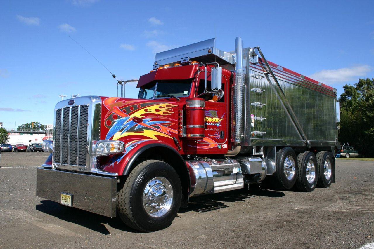 2000 Peterbilt 379 Quad Axle Dump Truck Cars Trucks ...