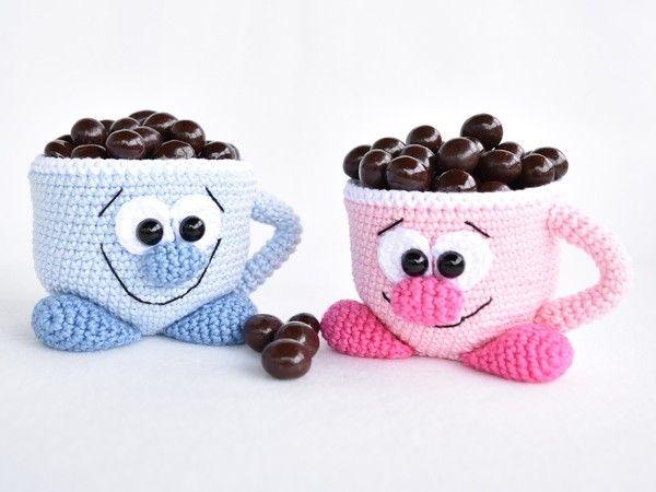 Jetzt eine Deko-Tasse als Utensilo für Kleinigkeiten oder ...