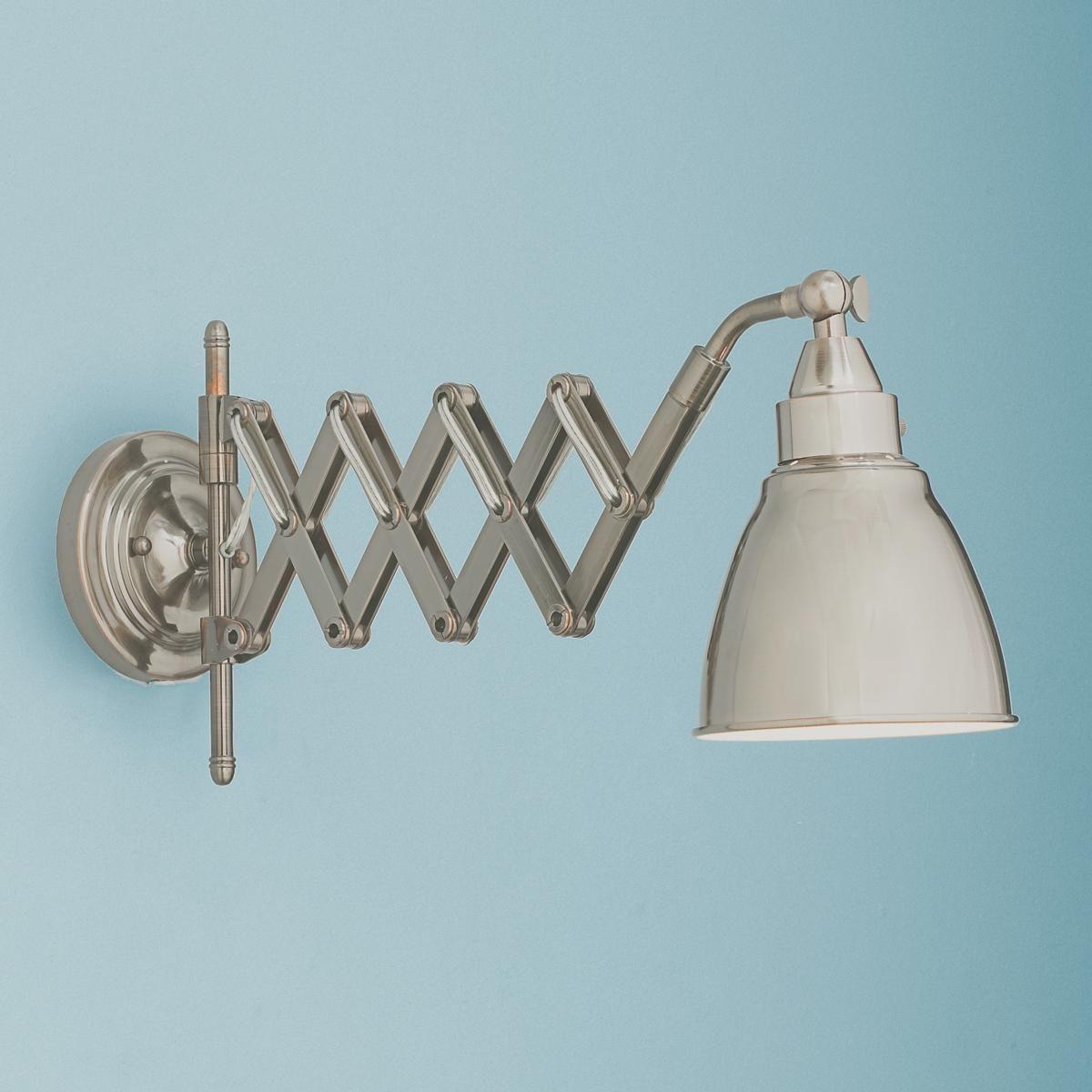 Accordion Cone Swing Arm Wall Lamp Bathroom Wall Lamp Shades