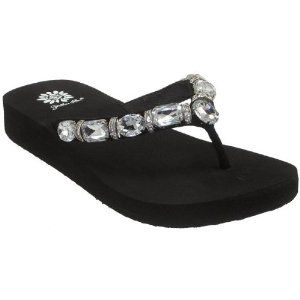 Yellow Box Sea Jeweled Rhinestone Thong Sandals (Apparel)  http://www.amazon.com/dp/B002AUO4UU/?tag=goandtalk-20  B002AUO4UU