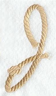 Machine Embroidery Designs at Embroidery Library! - Rope Alphabet