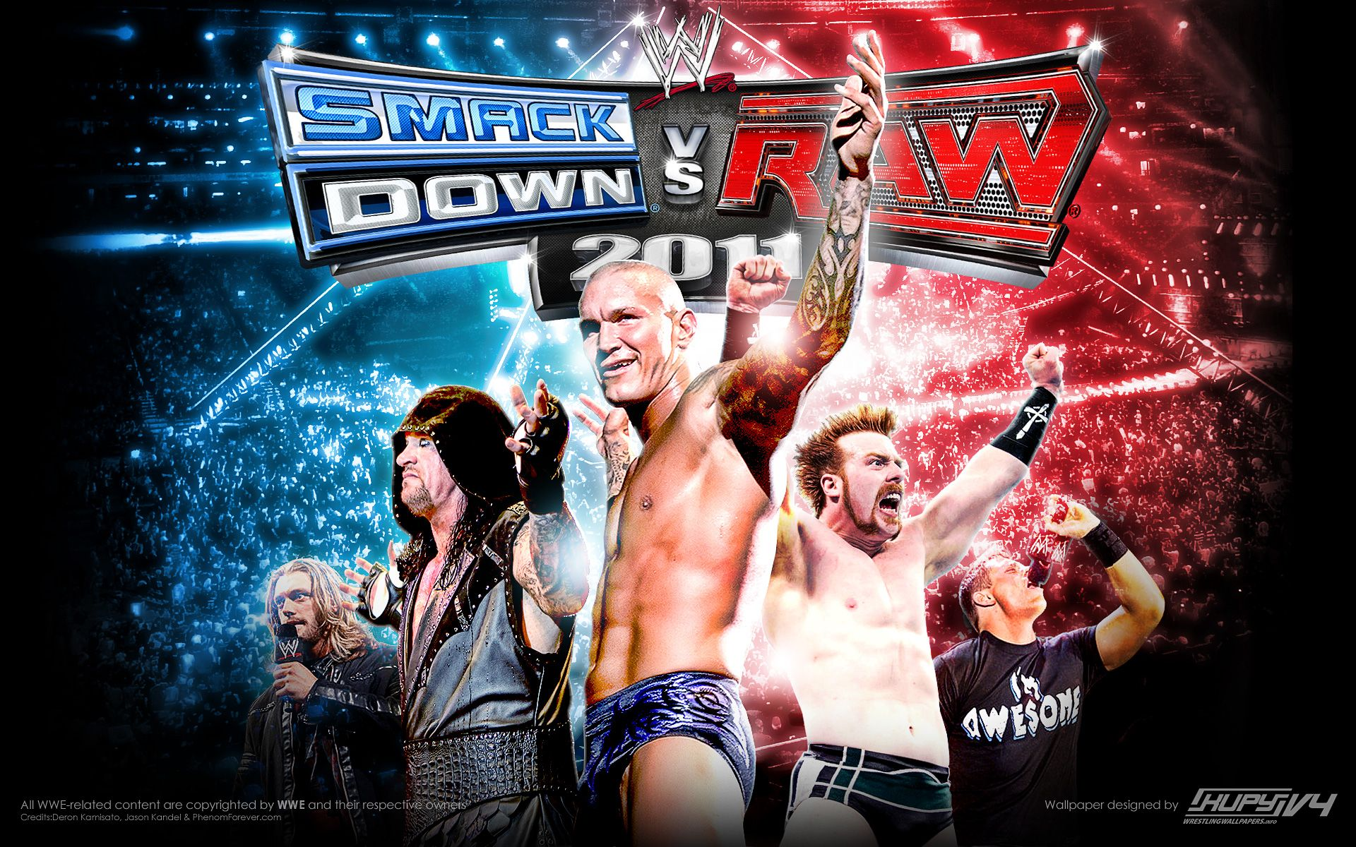 Wwe smackdown vs raw 2011 is a professional wrestling video game developed by yuke s and published by thq for the playstation portable psp ppsspp