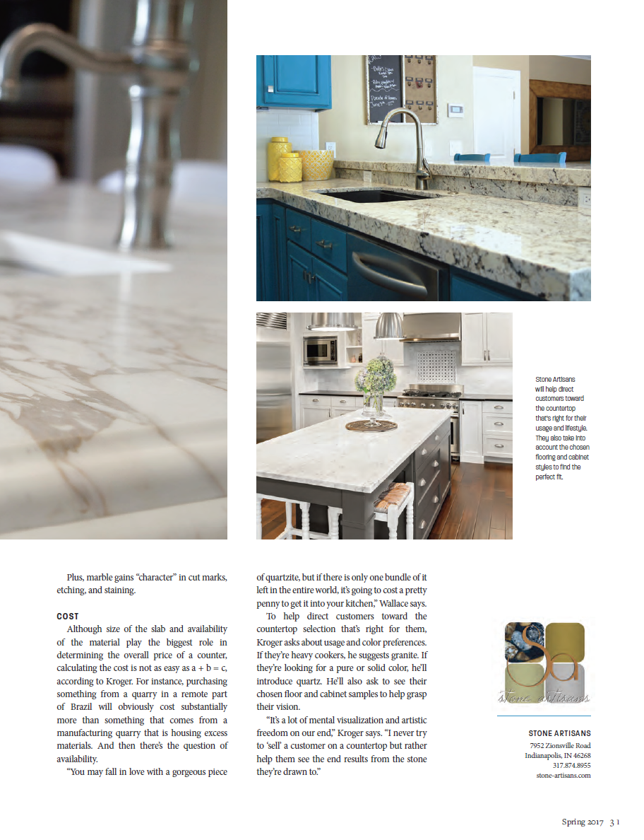 Countertop Choices Quartz Vs Granite Vs Marble Countertop Choices Countertops Pretty Kitchen