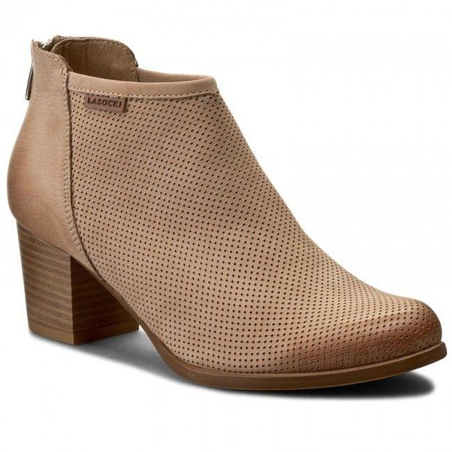 Botine Lasocki 70891 01 Bej Boots Ankle Boot Shoes