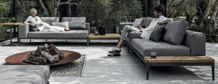 Gloster Grid Loungegruppe Loungemobel Garten Sitzgelegenheiten Im Freien Raum Im Freien