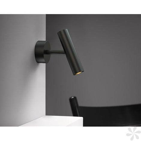 Nordlux Mib 3 Led Wall Light In Black A Illuminazione Lampade Faretti