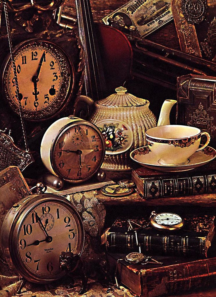 Old Clock By