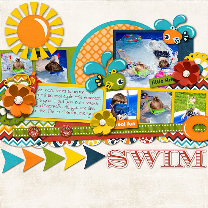 Awesome Summer   Swimming Fun By Jady Day Studio Coming 6/29 To SSD Cindyu0027s