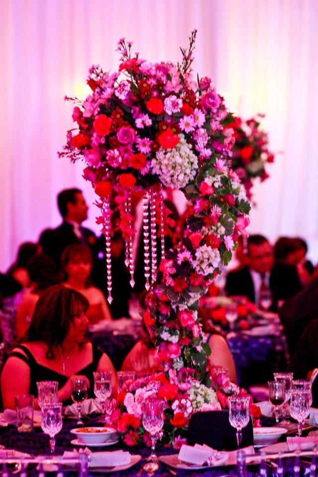Flores y cristales,,,