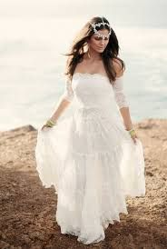 Image Result For Bohemian Wedding Dresses Plus Size