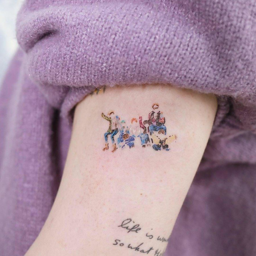 17 Tattoos Inspired By BTS That Only KPop Fans Will