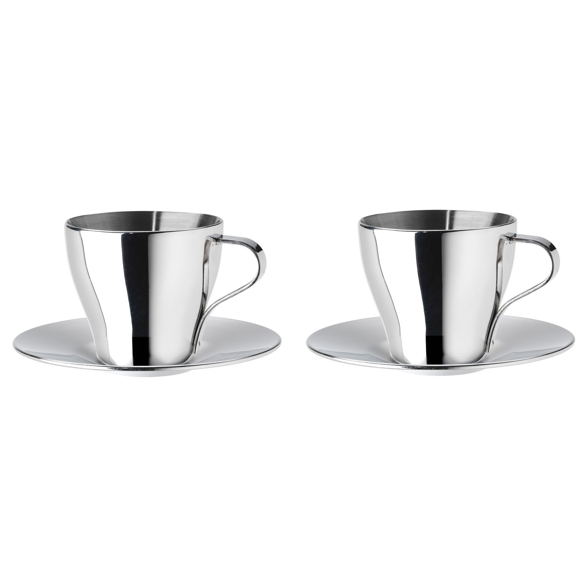 kalaset espresso cup and saucer stainless steel  espresso cups  - kalaset espresso cup and saucer  ikea i want to get the boys nonbreakable