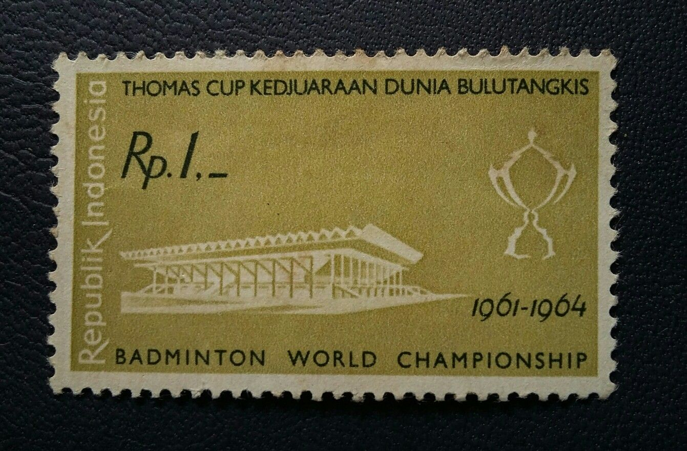 Indonesia stamp1964 (Thomas Cup) Stamp, Postage stamps