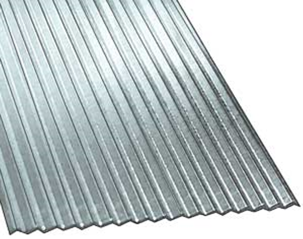 Corrugated Steel Roof Panel Galv 29 Ga Sizes Steel Roof Panels Roof Panels Corrugated Steel Roofing